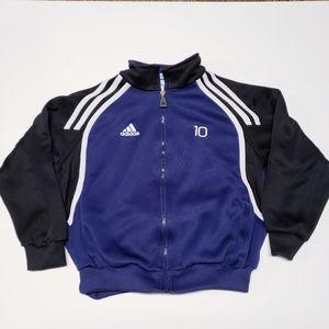 3/$25 Adidas Boys Zip Up Track Jacket